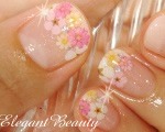 カルジェルネイルNo.P012 少女の花かご