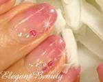カルジェルネイルNo.P014 ピンクダイヤモンド